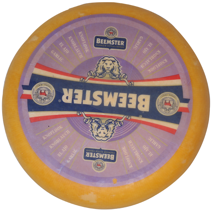 Queso Beemster 50+ Ajo 4.61kg Aprox