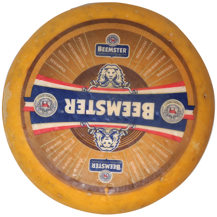 Queso Beemster 50+ Alholva 4.91kg Aprox