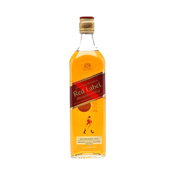 Whisky Johnnie Walker Red Label (Caja 12x1 L)
