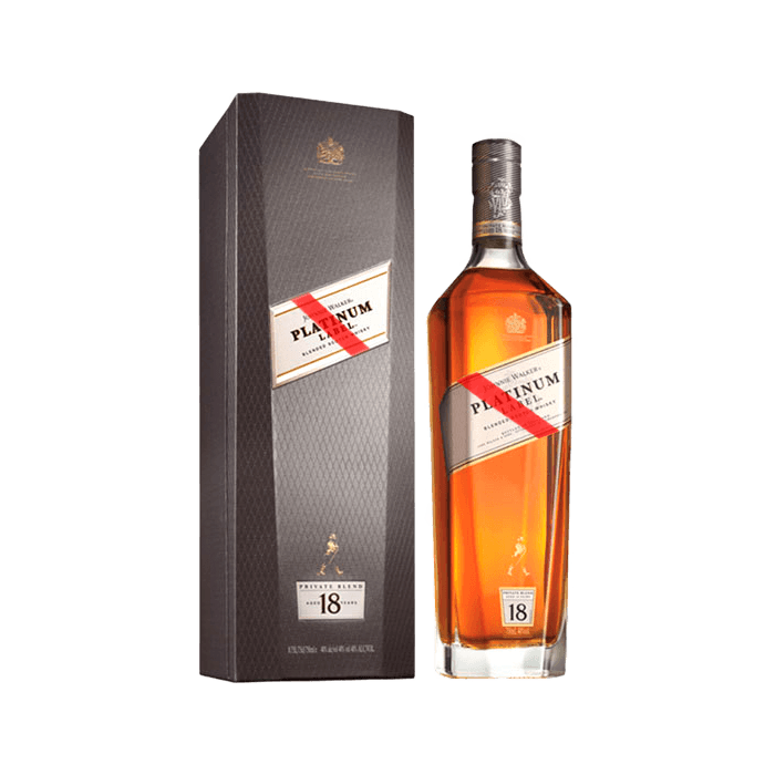 Whisky Johnnie Walker Platinum Private Case (Caja 6x750ml)