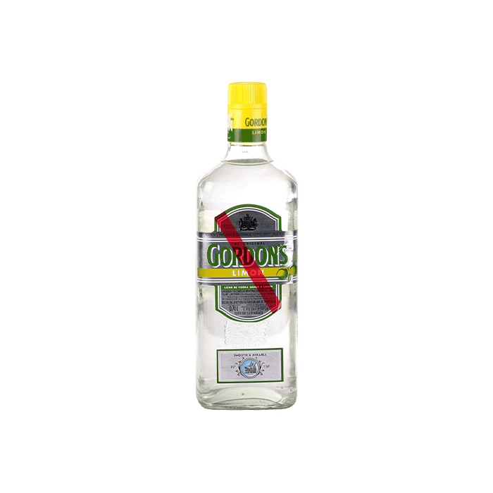 Vodka Gordon's Limón (Caja 12x700ml)