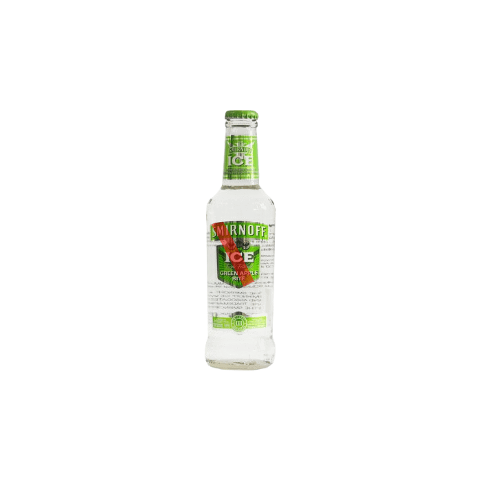 Vodka Smirnoff Green Apple (Caja 24x275ml)