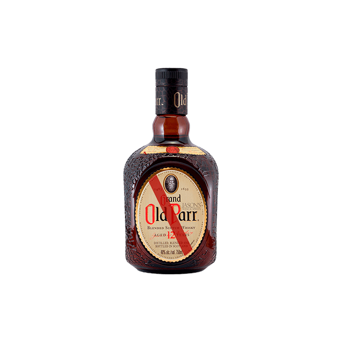Whisky Old Parr Deluxe (Caja 12x750ml)