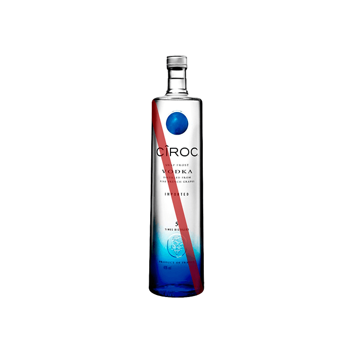Vodka Ciroc (Caja 12x750ml)