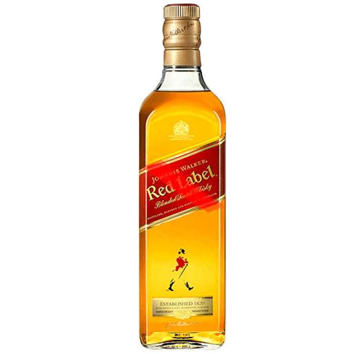 Whisky JW Red Label (Caja 12x750ml)