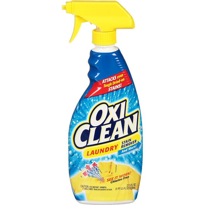 Detergente Oxiclean Quita Mancha Spray (Caja 8x636ml)