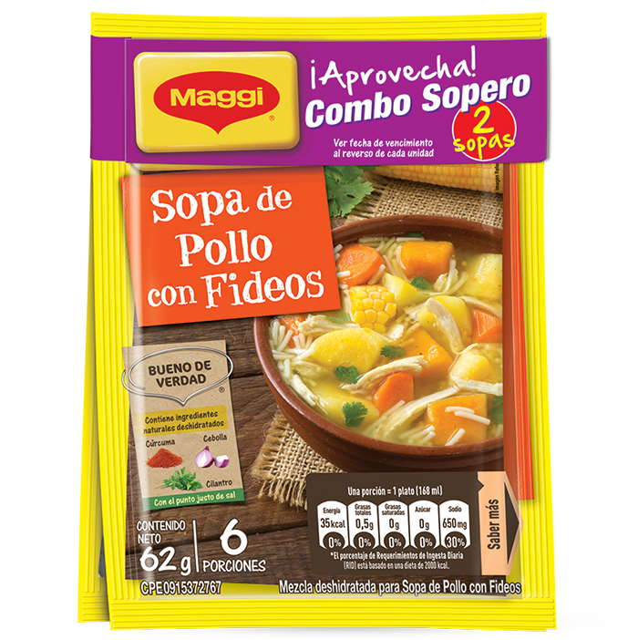 Combo sopero MAGGI® (Display 6x2unds)